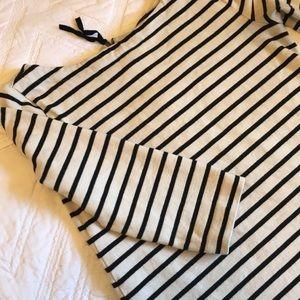 Ann Taylor LOFT linen 3/4 sleeve top xs